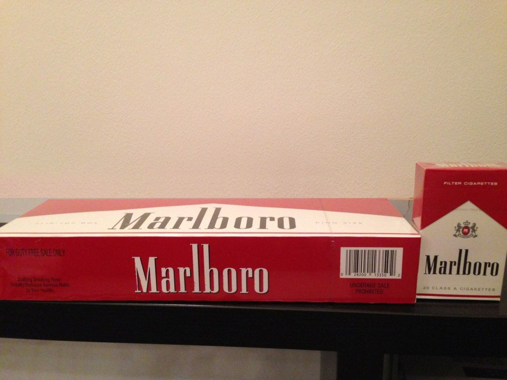 Cigarettes Marlboro store Washington