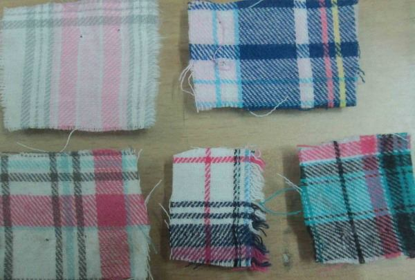 11849 - Flannel stock fabrics - 151 740 yards BANGLADESH