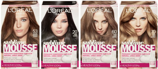 14155 L Oreal Sublime Mousse Hair Color Lot Usa