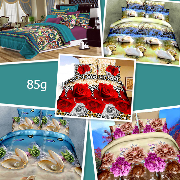 18148 - 3D bedding sets closeout lot China