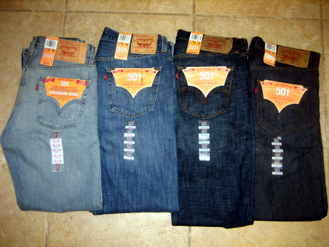 Levis Mens Jeans Assorted 30pcs Usastock Offers Global Stocks