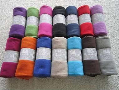 20439 - Fleece Throws Stock India