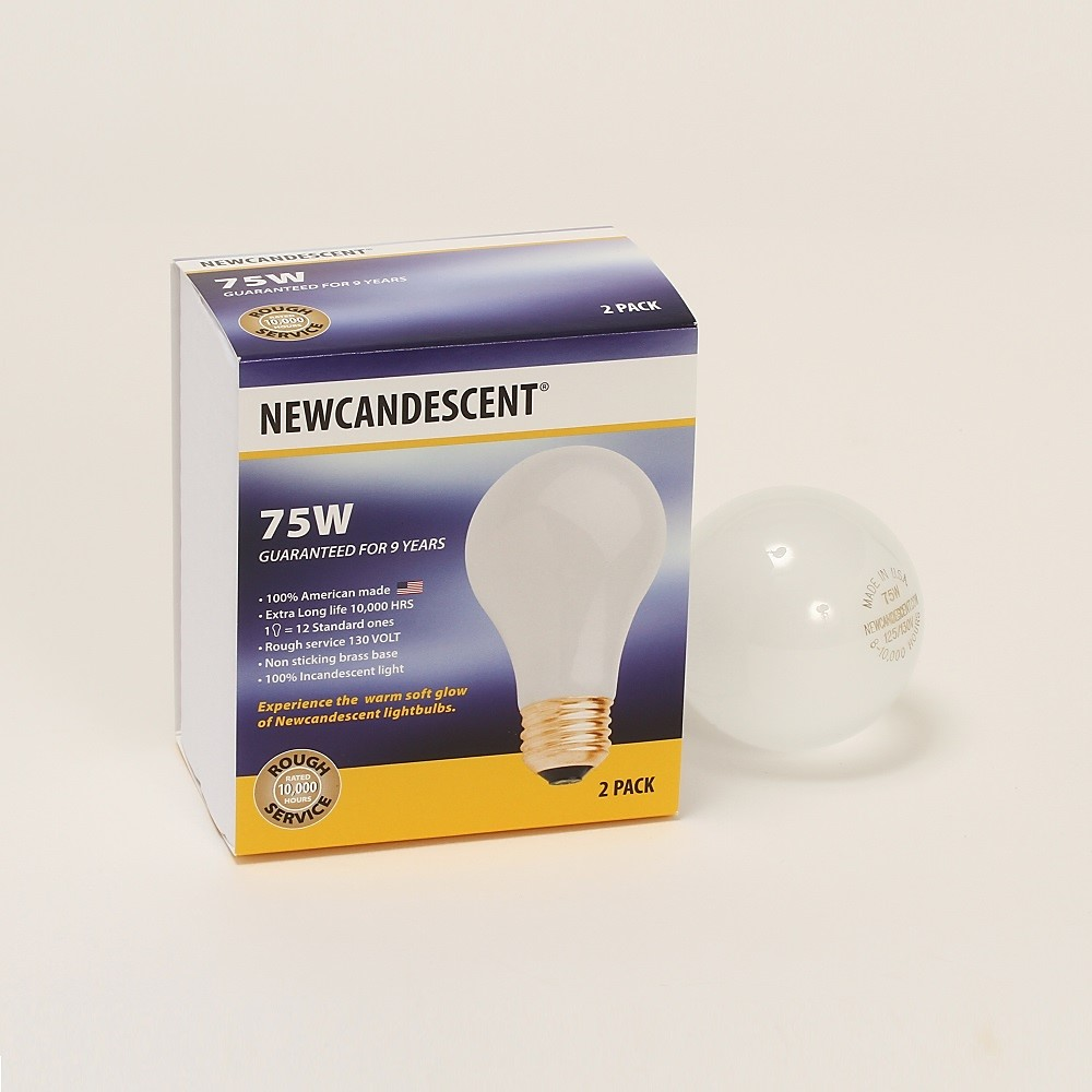 21192 - Incandescent bulbs USA