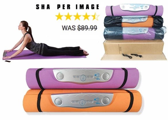 21345 - Sharper Image Bluetooth Exercise/Yoga Mat USA