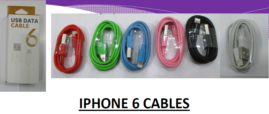 21373 - IPHONE 6 Cables Europe