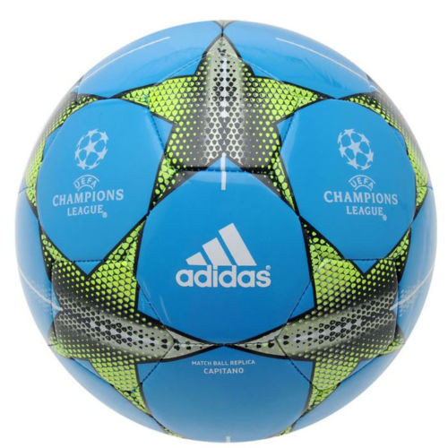 21707 - Adidas Champions League Finale 15 Capitano (Blue) Size 5 Footballs Europe