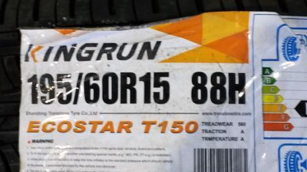 21740 - Stocklot car tyres Europe