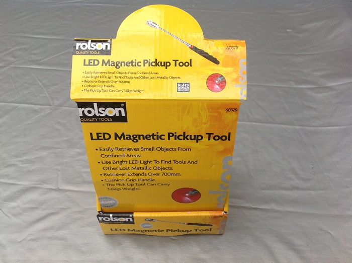 22197 - Rolson led magnetic pick up tools Europe