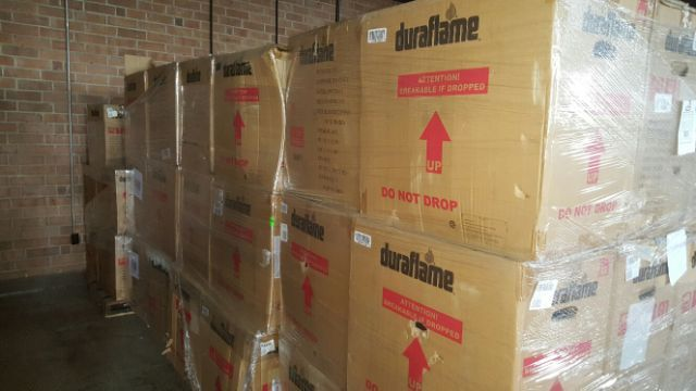22576 - Duraflame Heater Truckload USA