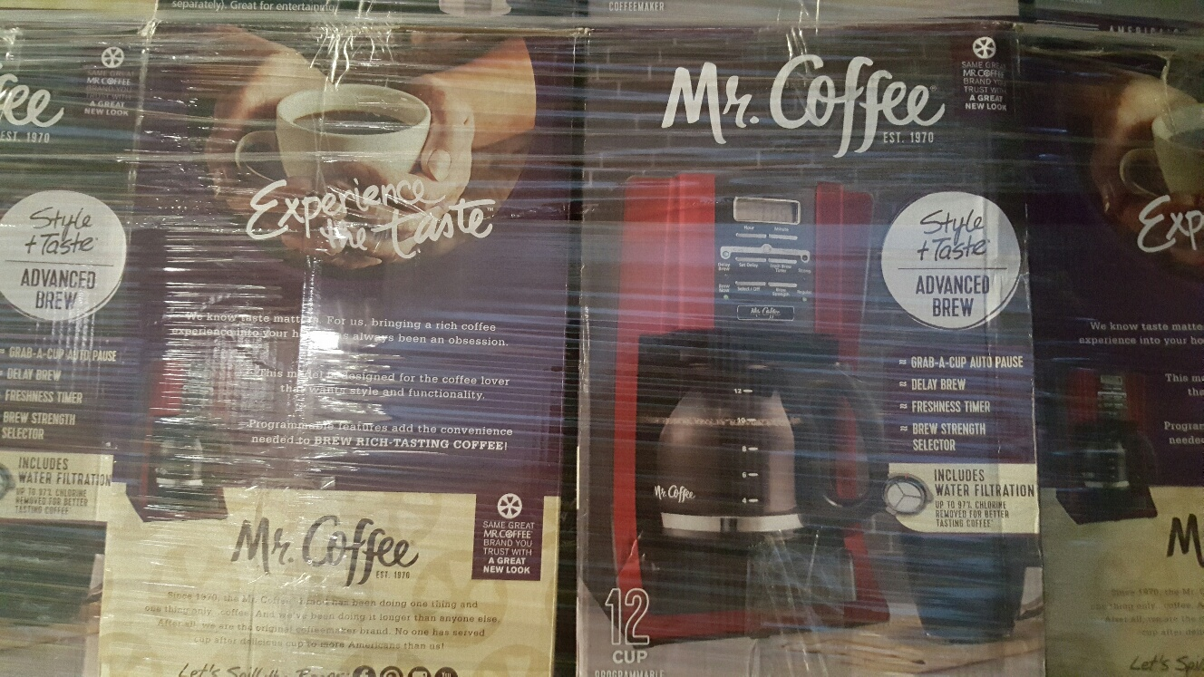 22834 - Mr. Coffee 12-Cup Programmable Coffee Maker USA