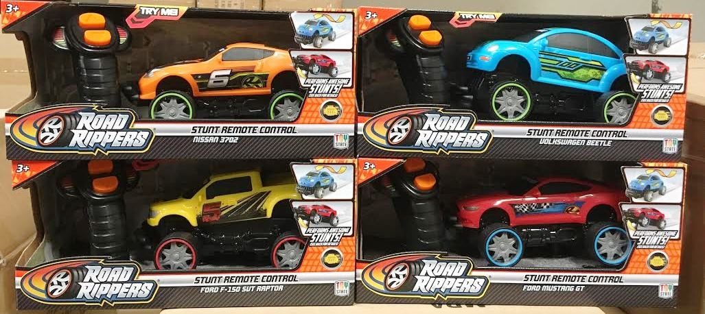 22870 -  Toy State Road Rippers Remote Control Cars USA