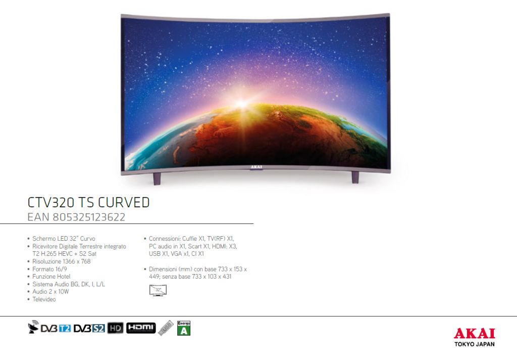22900 - NEW GENERATION LED - CURVED Europe