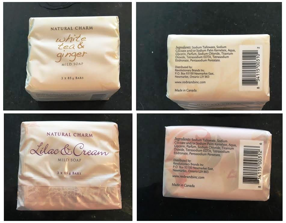 23091 - Natural Charm 85-G (3 Ounce) Bar Soap 3-Packs Canada
