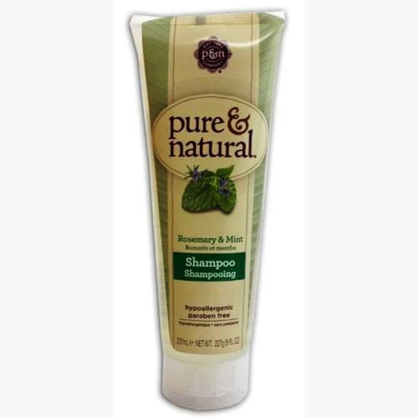 23286 - Pure & Natural Hair Shampoo & Conditioner, Rosemary & Mint, 8-ounce USA