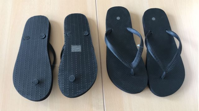 23715 - BLACK COLOR SLIPPERS EUROPE