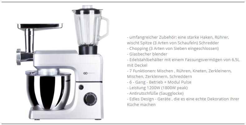 24191 - Kitchen machine Europe
