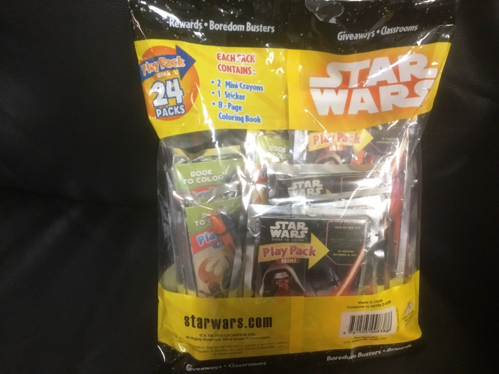 24304 - STARS WARS Value Package Mini Play Packs USA