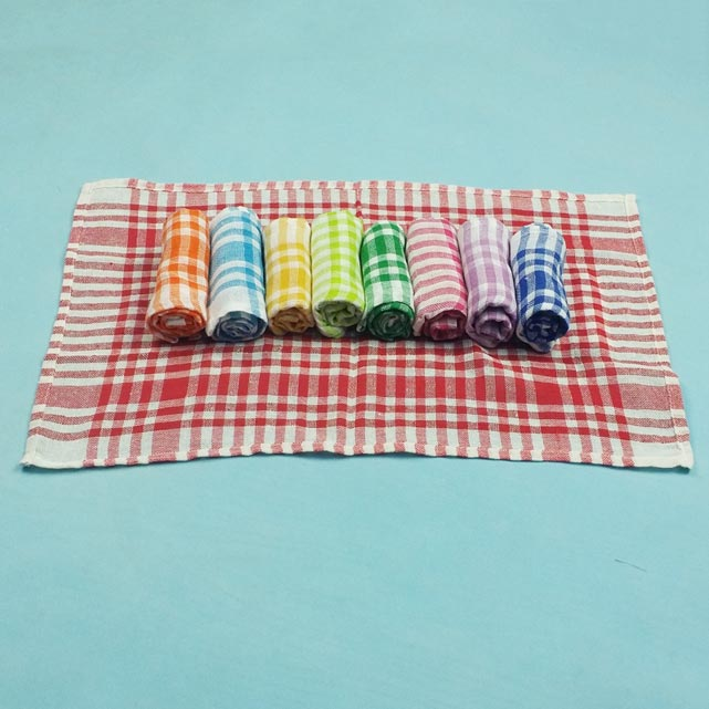 24431 - Yarn Dyed Kitchen Towel Stock India