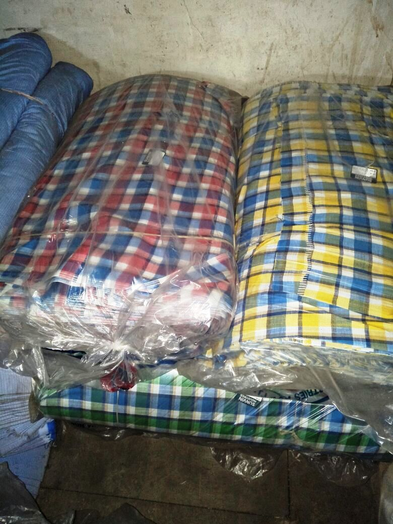 24717 - Shirting stock fabric 100,000mtrs available India