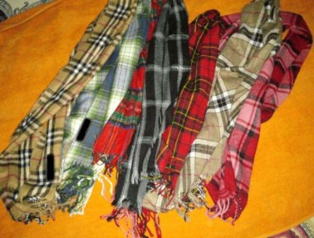 24829 - Assorted Winter Scarves Pakistan