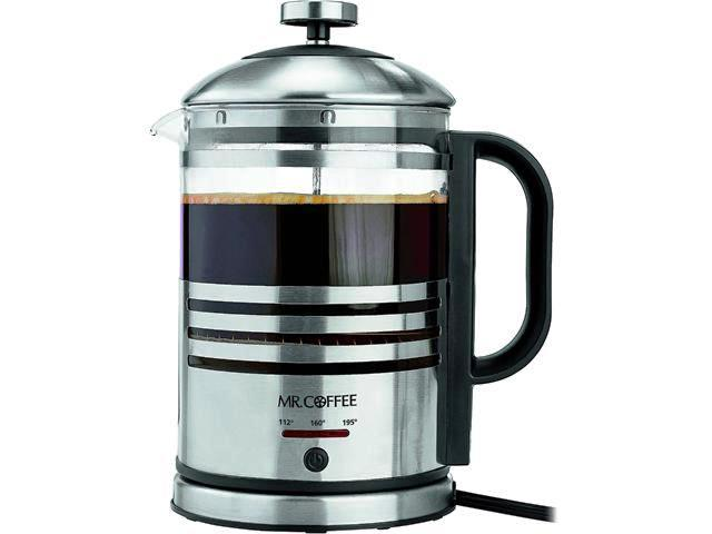 25118 - Mr. Coffee - Electric - French Press - Hot Water Kettle USA