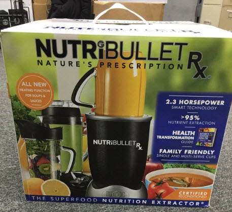 25190 - NUTRI BULLET RX RE-CERTIFIED USA