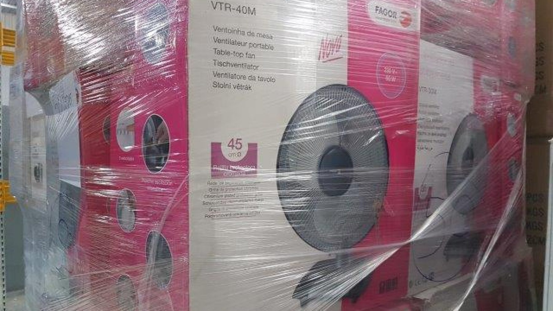 25380 - Large Brand Fans Stock Europe