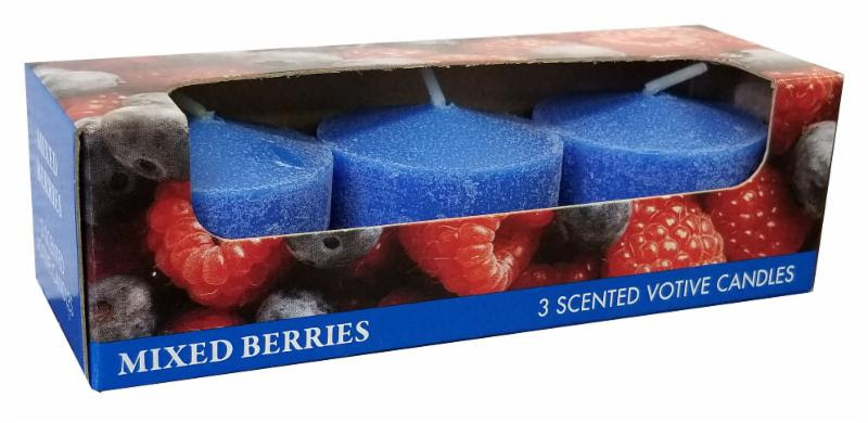 25515 - Holiday Scented Candles USA