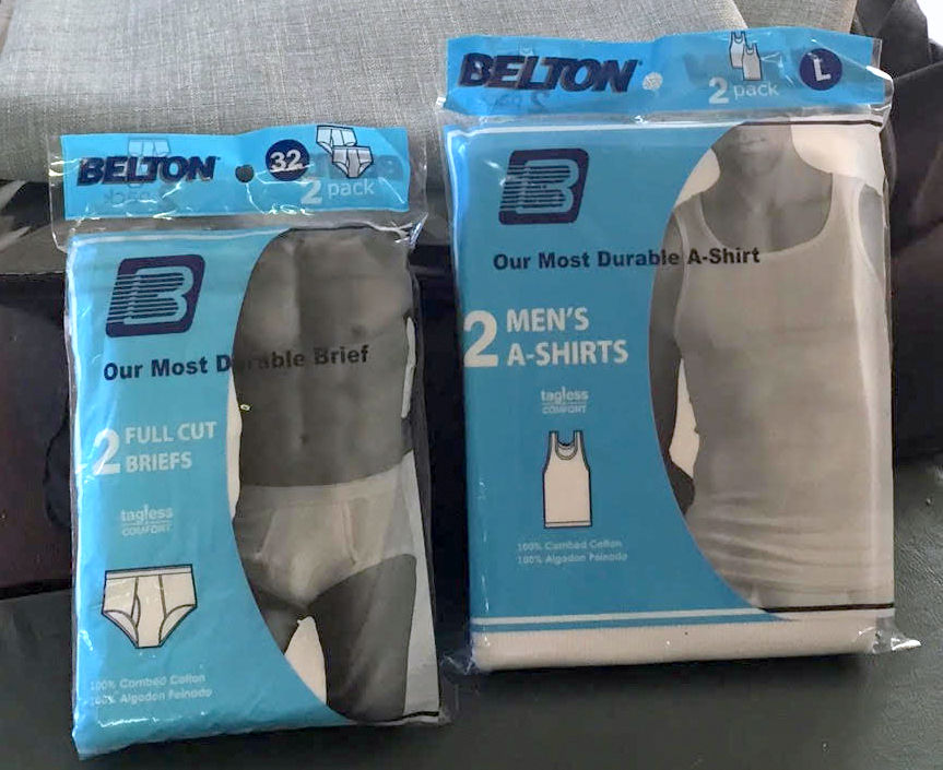 25560 - BELTON BRAND - A SHIRTS & BRIEFS USA