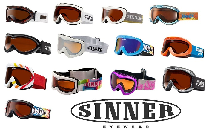 25671 - Mix Ski goggles of a Dutch company SINNER Europe