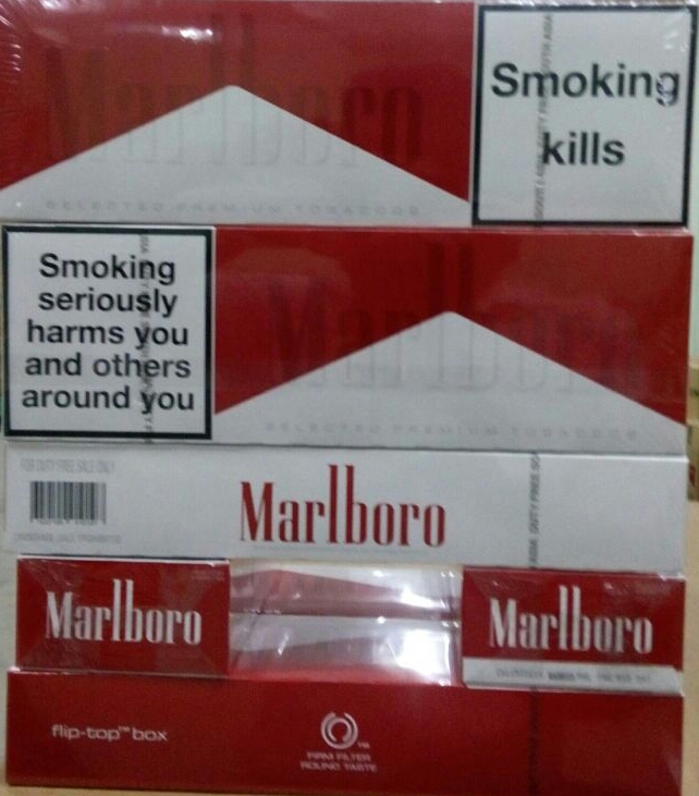 25686 - SADF Marlboro, Parliament and other branded cigarettes India
