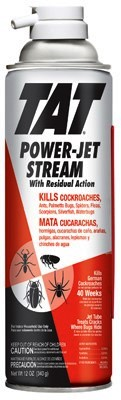 25874 - TAT Roach Killer With Power-Jet Stream 12 Oz. Aerosol Can USA
