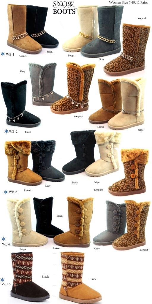 26166 - Ladies Winter Boots USA