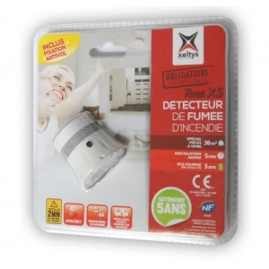 26259 - Smoke detector / fire alarm Tana x5 with mounting material Europe