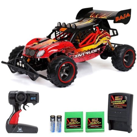 26328 - New Bright Full Function RC Intruder Buggy 1:6 Scale Buggy RED Jordan
