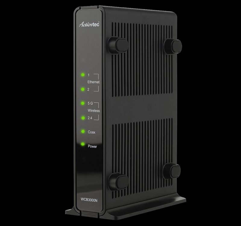 26381 - Actiontec Single Dual-Band Wireless Network Extender and Ethernet Over Coax Adapter USA