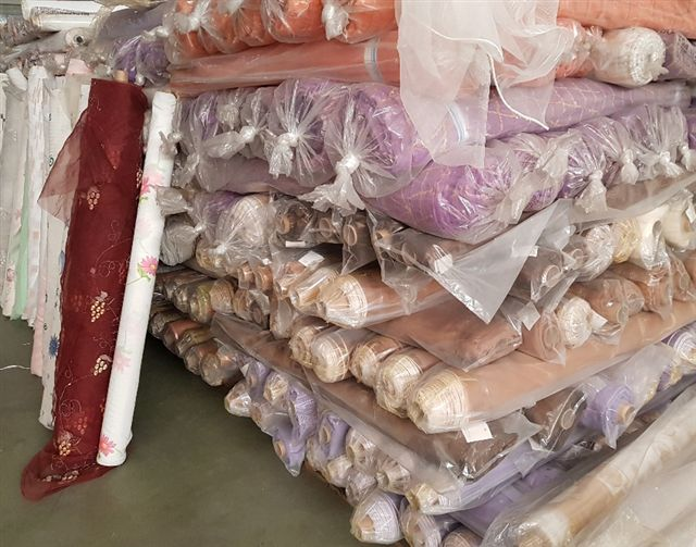 26402 - FABRIC STOCK FOR CURTAINS AND UPHOLSTERY Europe
