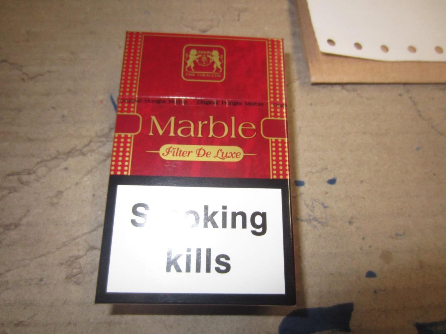 26412 - MARBLE RED CIGARETTES Europe