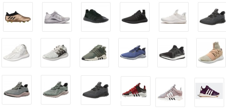 26424 - Adidas Footwear Closeout Offer shoes USA