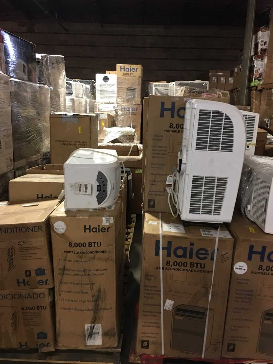 26461 - Haier Air Conditioner Truckload USA