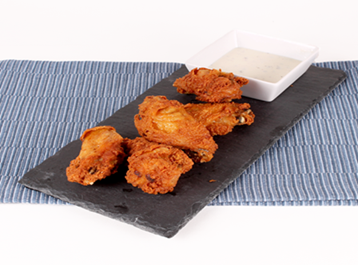 26501 - Fully cooked Breaded Chicken Wings over a load available USA