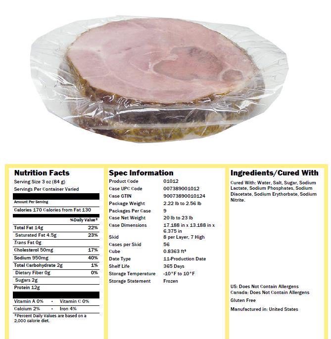 how to cook frozen ham steak