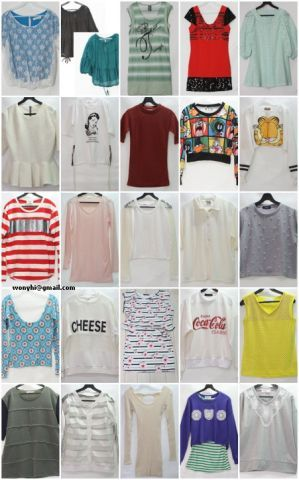 26584 - Stock garments Korea