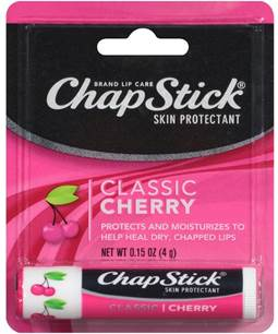 26585 - ChapStick Lip Balm Cherry 0.15 oz USA