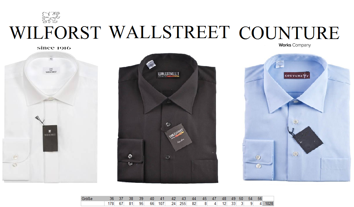 26614 - Men's Business Shirts Europe