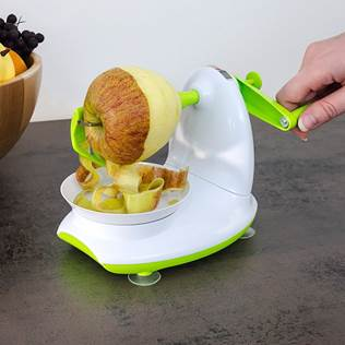 27099 - Relaxdays apple peeler with apple cutter set of 2 Europe