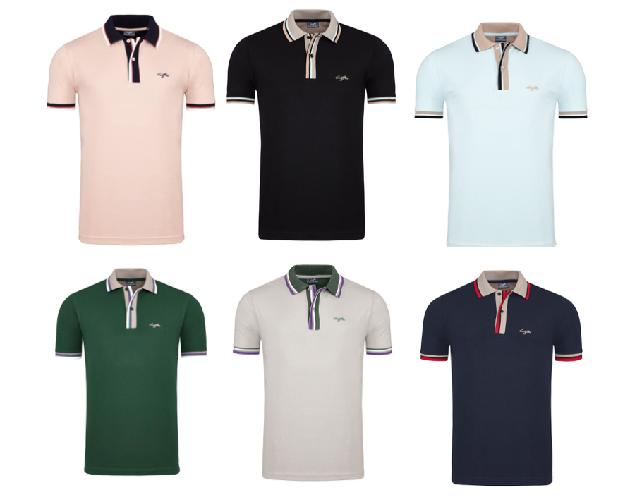 27162 - Lotto Polo's Mens Europe