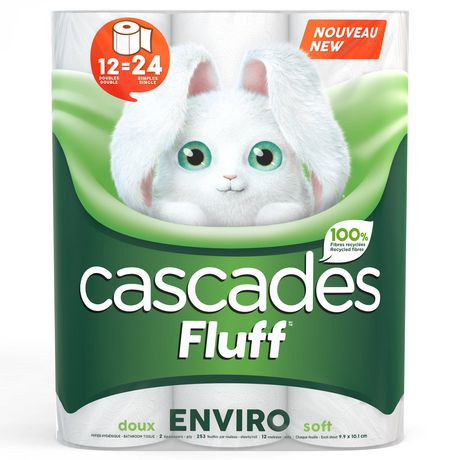 27651 - Cascades Fluff bath tissue USA