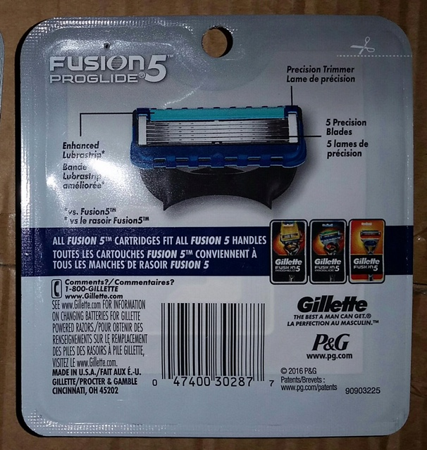 27653 - FUSION PROGLIDE OR PROSHIELD 8 PACK Canada