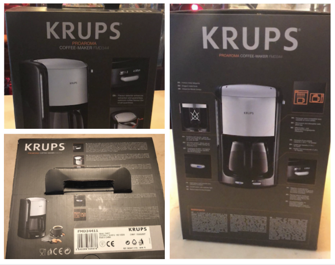 27788 - Krups Coffee Maker FMD344 SW/CH Europe